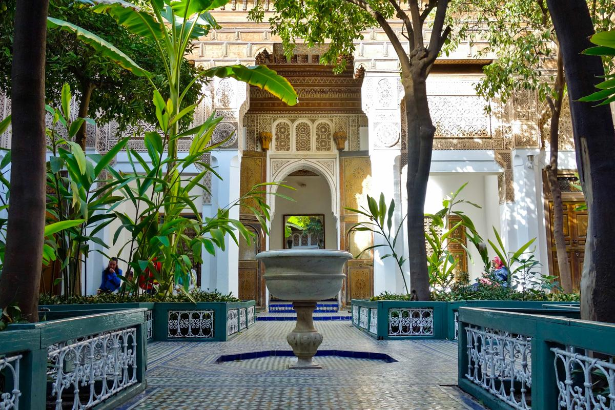 Around the riad